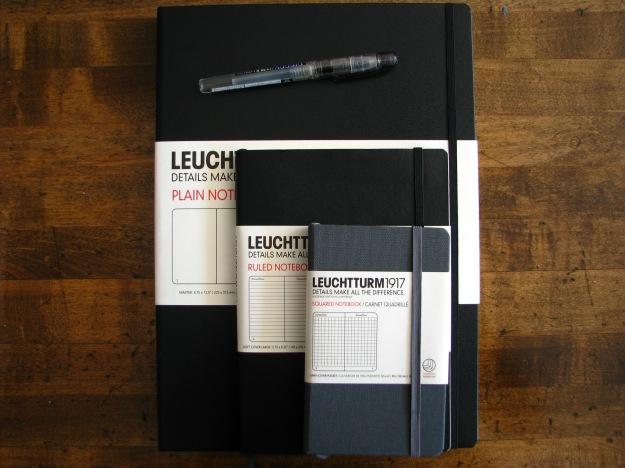 Leuchtturm Master Notebooks! Just the name sounds impressive.
