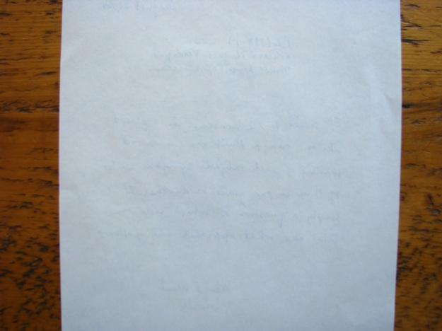 Tomoe River Paper has very little bleedthrough