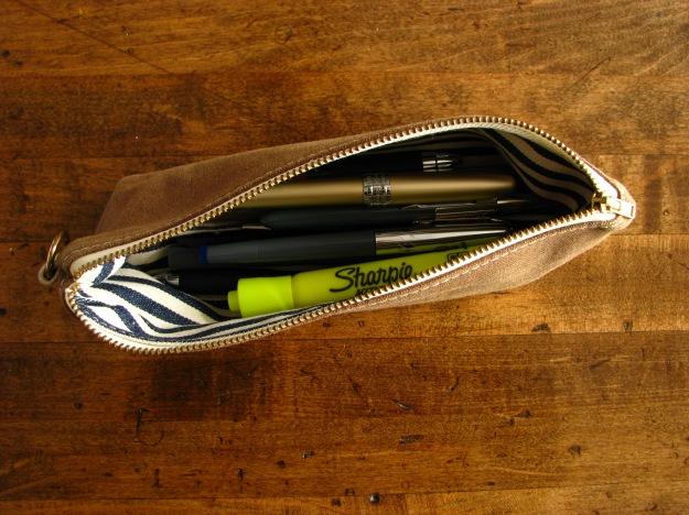 Fountain Pens in Milltown Pen Case