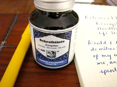 Rohrer & Klingner Konigsblau Bottled Ink at Wonderpens.ca