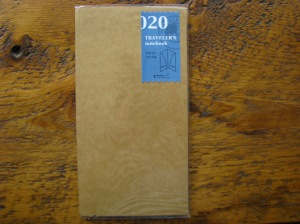 Midori Kraft Envelope for Regular Size Traveler's Notebook 020
