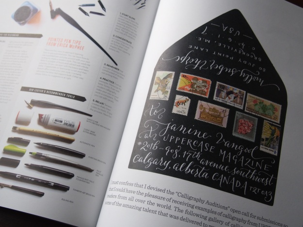 Calligraphy & Lettering Uppercase Magazine Issue 23