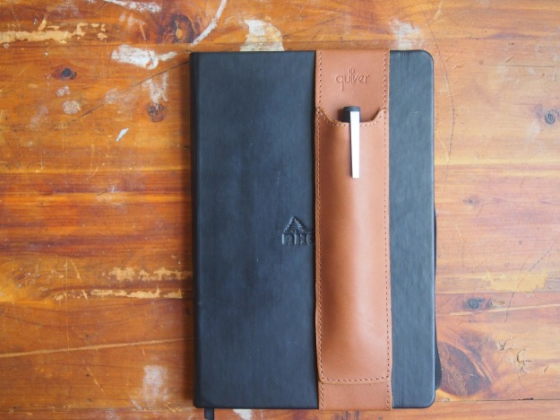 Quiver Leather Pen Holder in Brown at WonderPens.ca