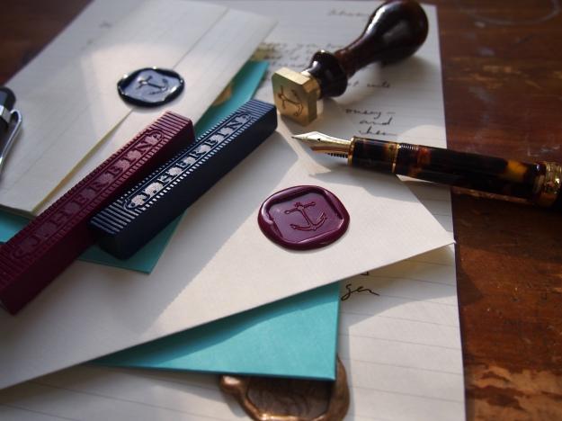 Sealing Wax Brass Seal J. Herbin Wonder Pens wonderpens.ca Toronto Canada