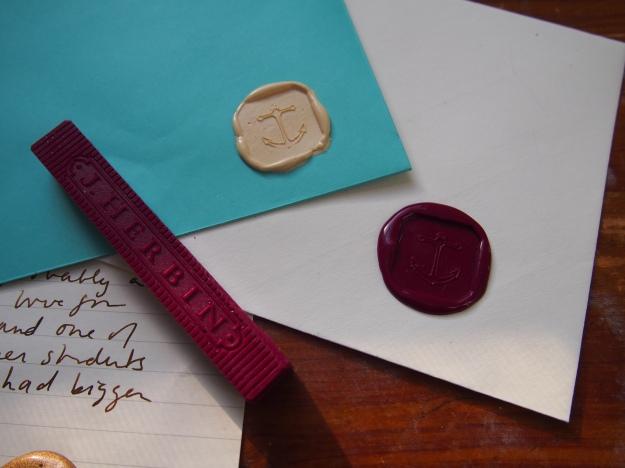 J. Herbin Supple Sealing Wax Brass Seals at wonderpens.ca Toronto Canada