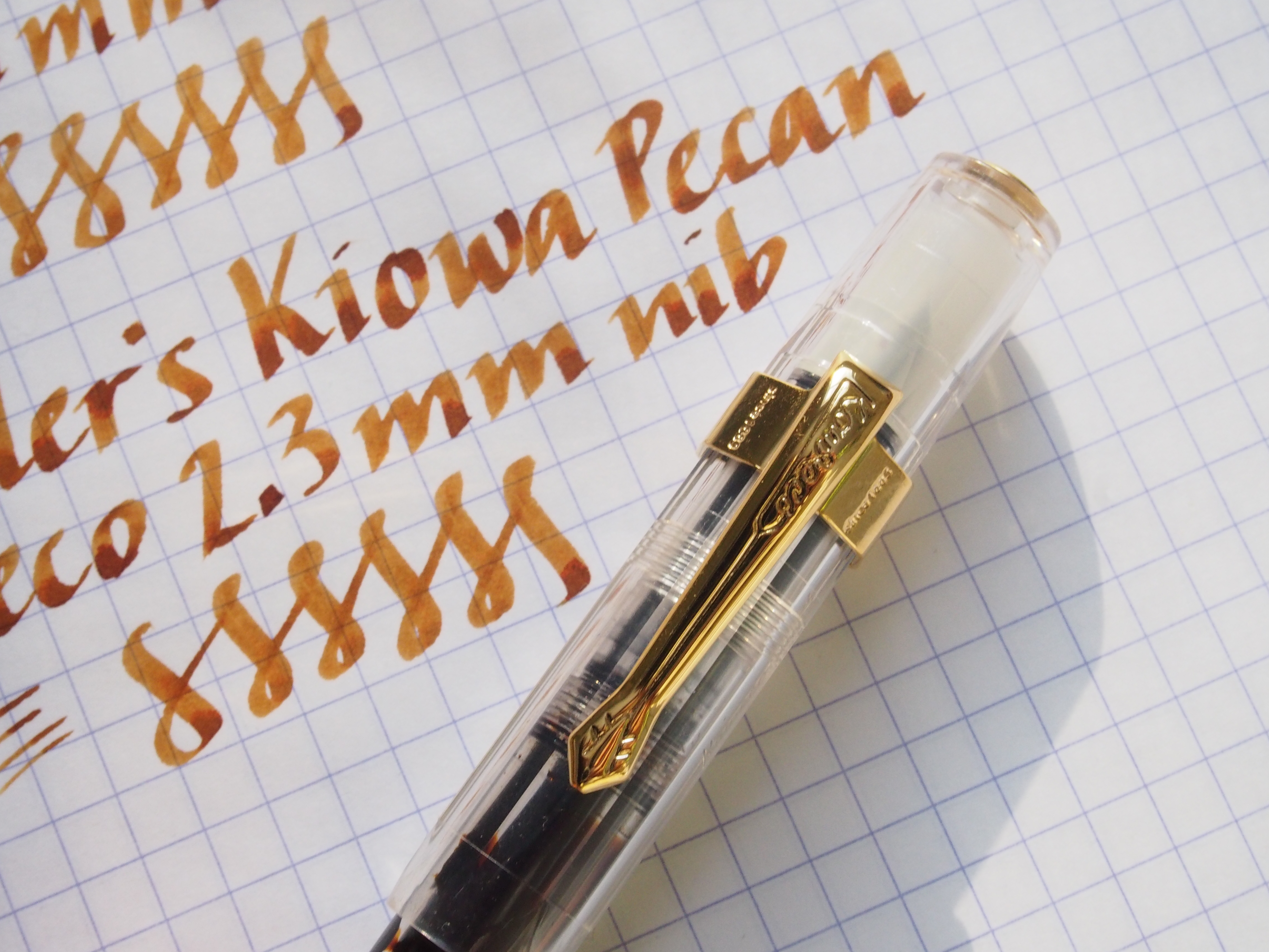 Kaweco Vintage-Styled Clip on Clear Sport
