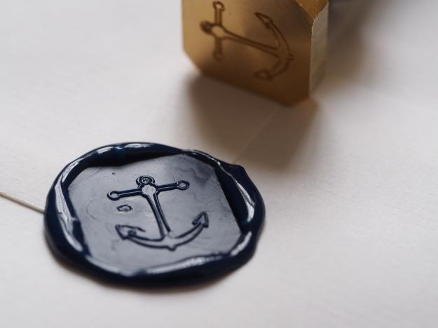 J Herbin Wax Seal Anchor Wonder Pens