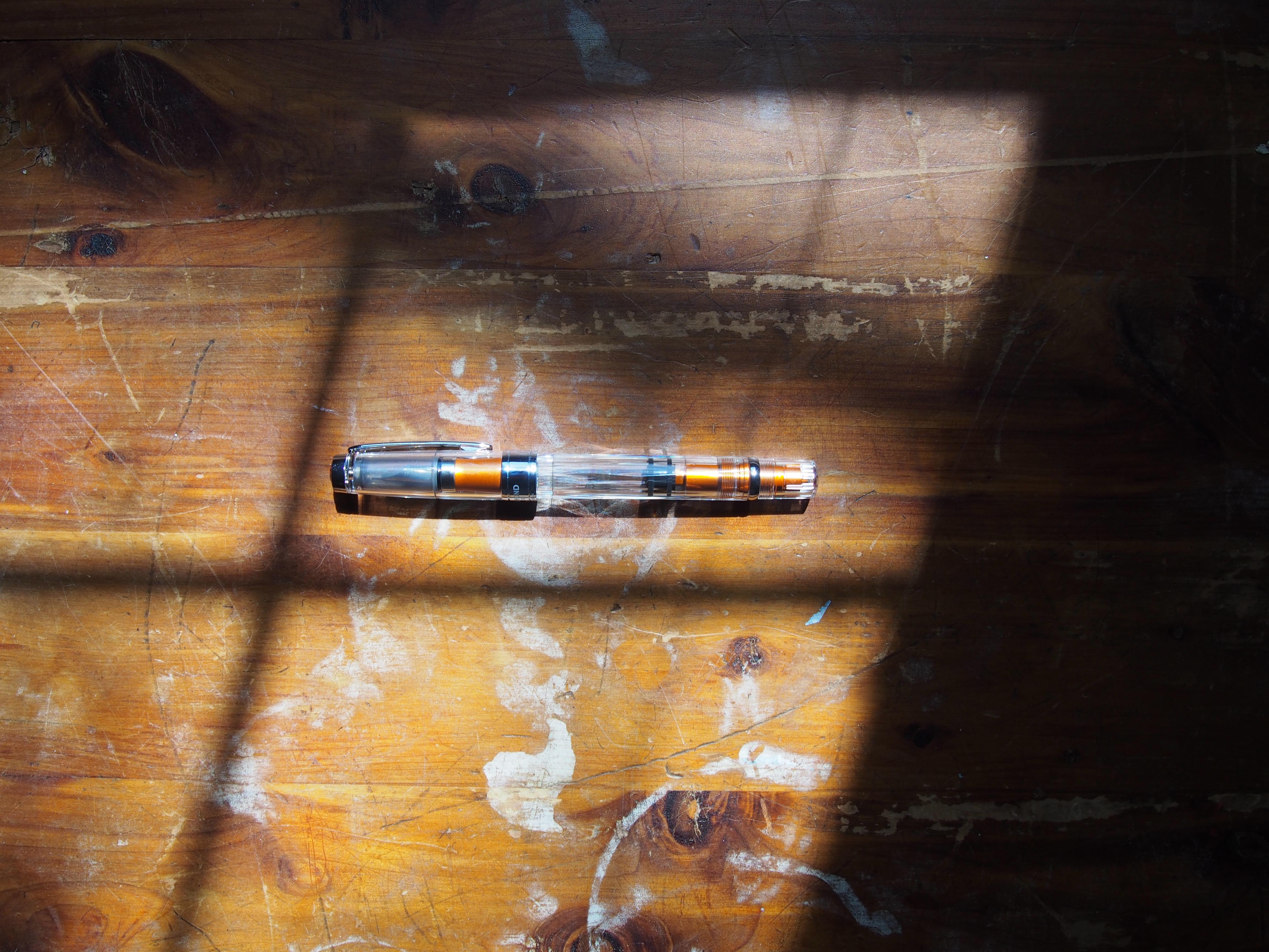 TWSBI 580 Orange Aluminum at Wonderpens