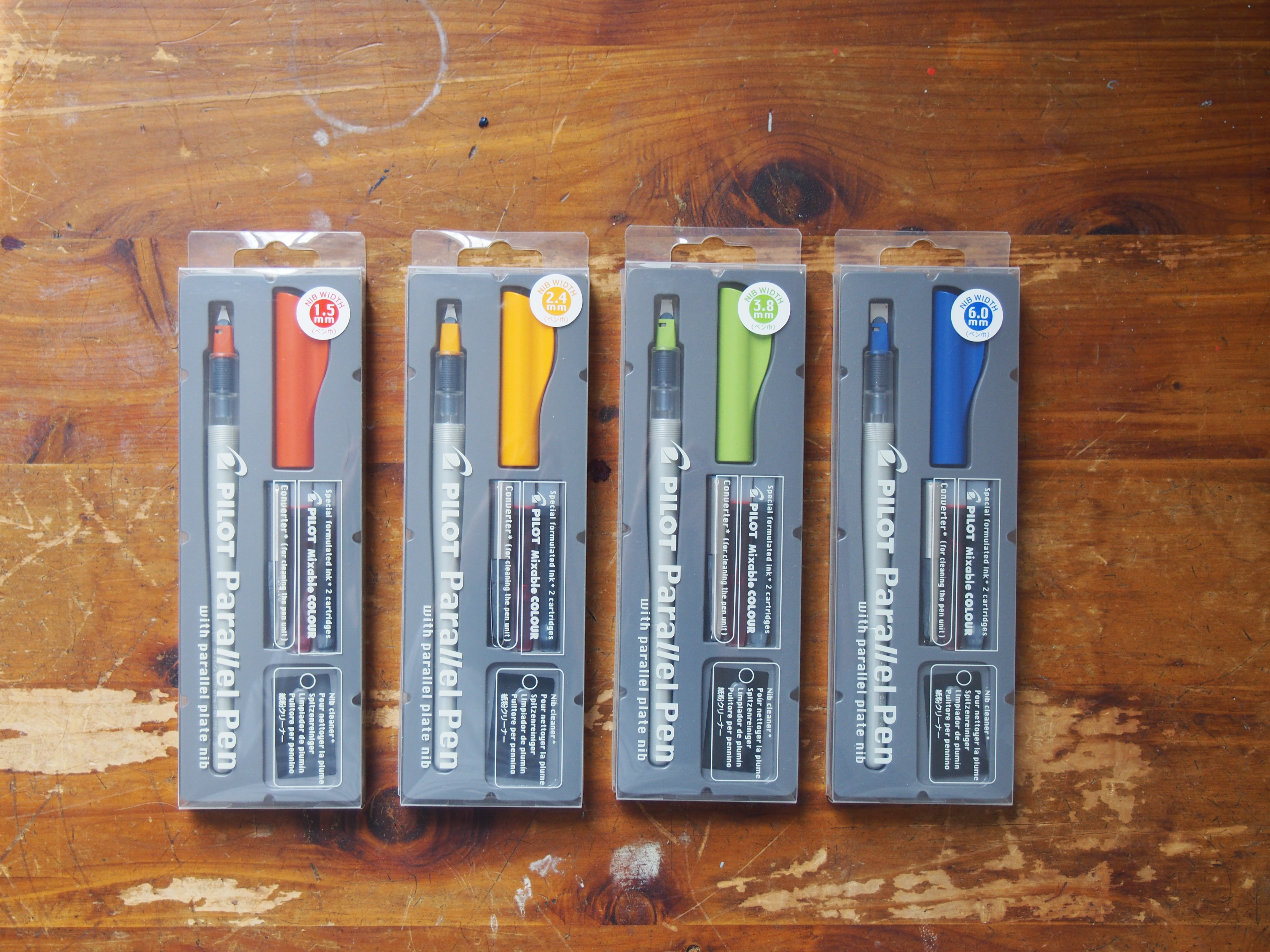 Pilot Parallel Calligraphy Pens Set Deal at WonderPens.ca