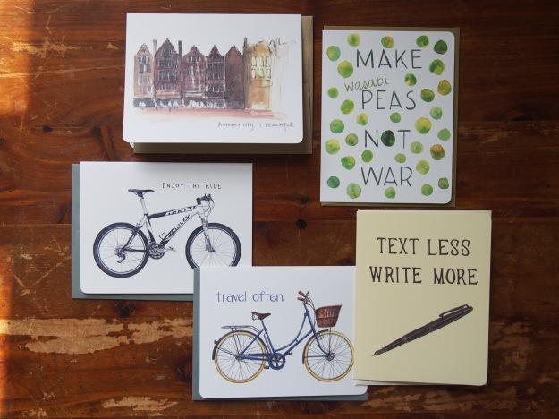 Gotamago Note Cards Set from Wonder Pens