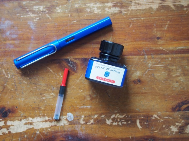Lamy Al-Star Ocean Blue with Eclat de Saphir Starter Set WonderPens