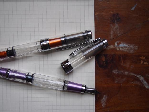 TWSBI 580 AL in Purple and Orange at Wonder Pens wonderpens.ca