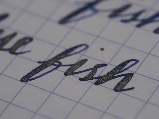 J. Herbin Bleu Ocean 1670 Anniversary Ink from Wonder Pens, wonderpens.ca Toronto, Canada