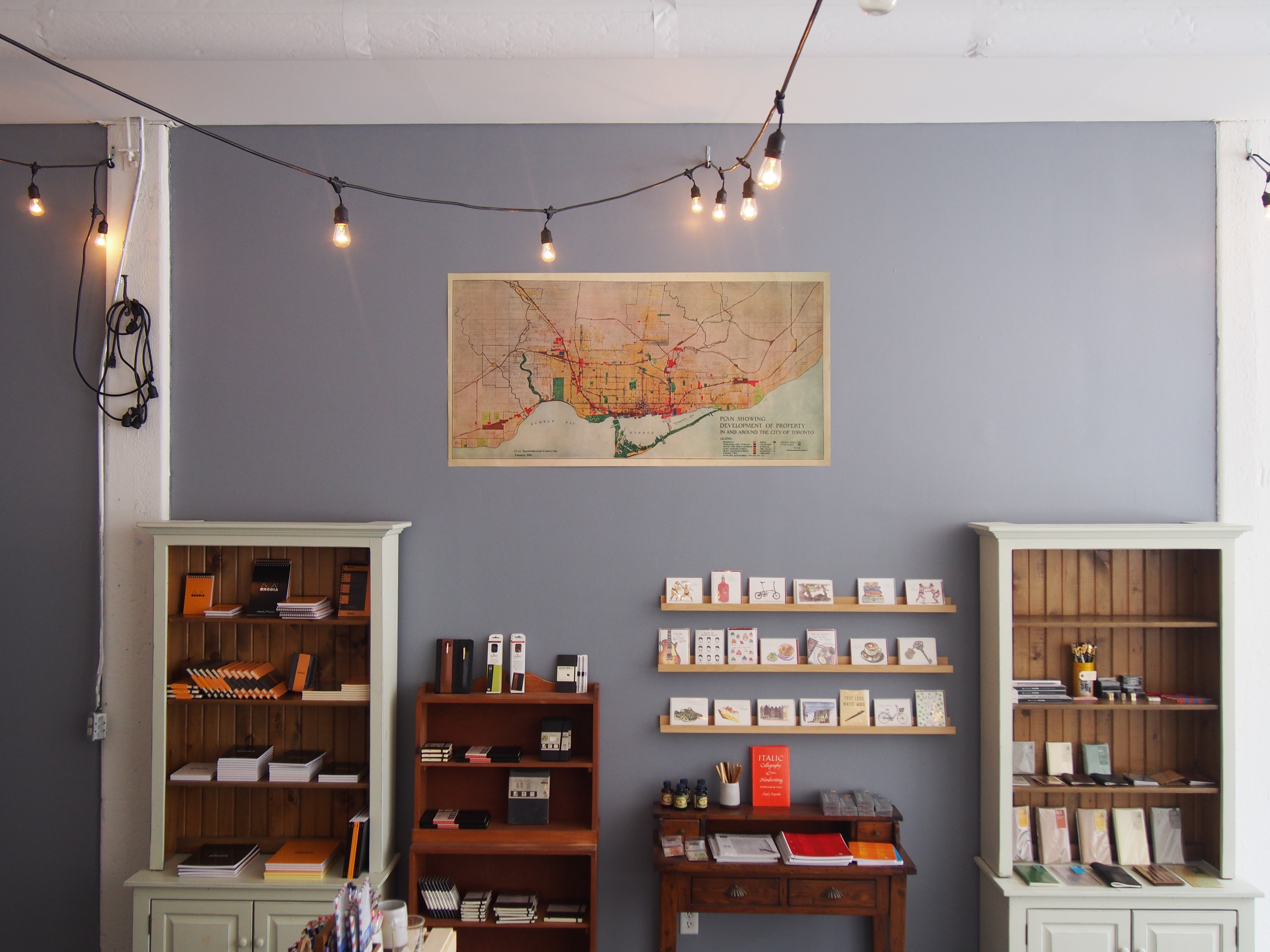 Wonder Pens Stationery Shop Dundas West Carlaw Avenue Toronto Canada
