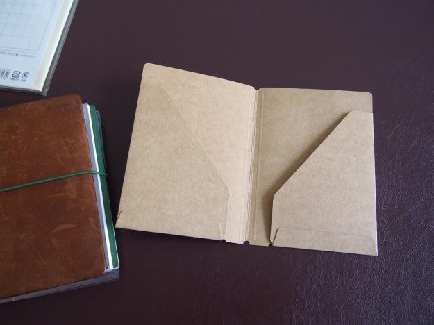 Kraft Folder 010 for Passport Midori at Wonder Pens Toronto Canada