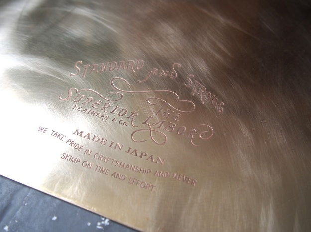 Superior Labor Brass Clipboard Wonder Pens wonderpens.ca Toronto Canada