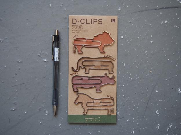 Midori D-Clips Paper Clips Toronto Canada Wonder Pens wonderpens.ca