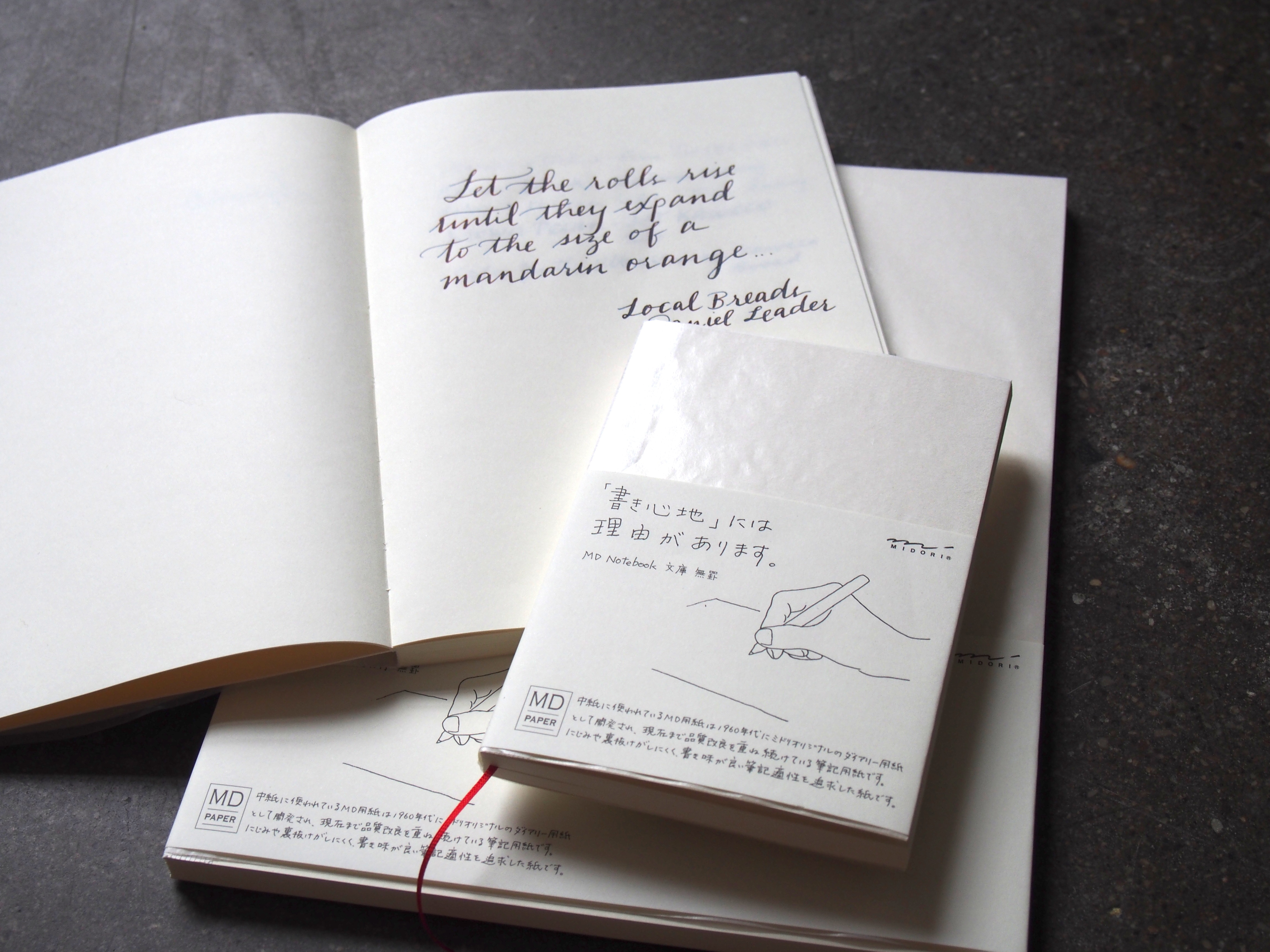Midori MD Notebook Japan Wonder Pens wonderpens.ca Toronto Canada