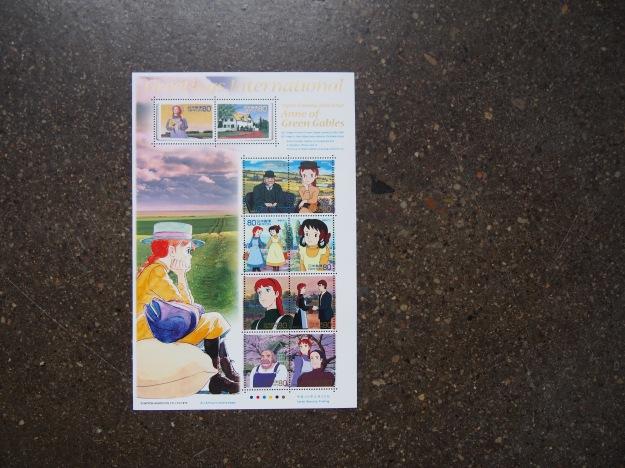 Anne of Green Gables Canada Post Stamps Japan Wonder Pens wonderpens.ca Blog