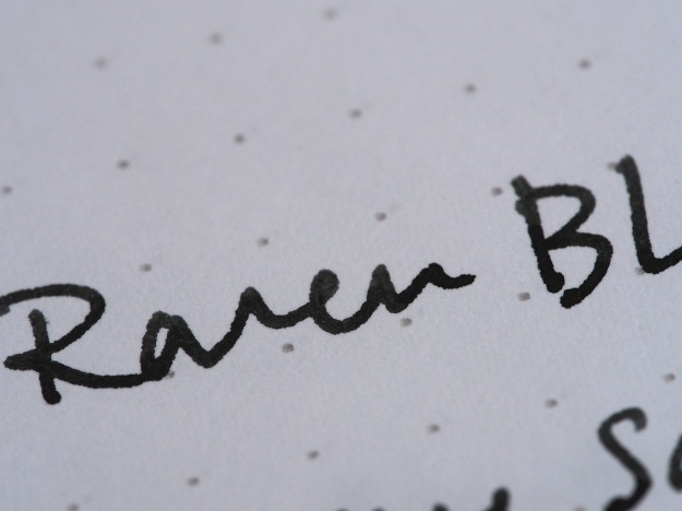 Raven Black Canadian Exclusive at Wonder Pens wonderpens.ca Toronto, Canada Noodler's Fountain Pen InkRaven Black Canadian Exclusive at Wonder Pens wonderpens.ca Toronto, Canada Noodler's Fountain Pen Ink