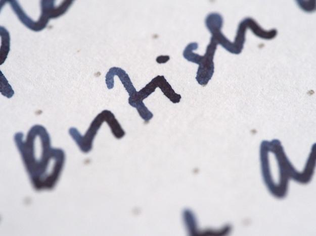 Blue Upon the Plains of Abraham Canadian Exclusive Wonder Pens Noodler's Fountain Pen Ink