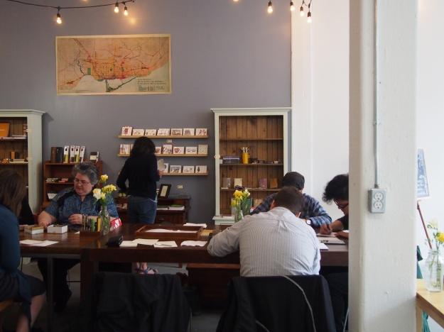 Letter Writing Club Toronto Canada wonderpens.ca Wonder Pens 250 Carlaw Avenue Unit 105