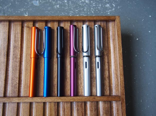 Lamy Safari or Al-Star Difference Comparison Wonder Pens Blog wonderpens.ca Toronto Canada