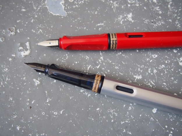 Lamy Safari vs. Al-Star Comparison Wonder Pens Blog wonderpens.ca Toronto Canada