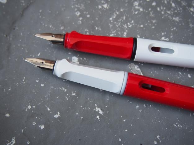 Lamy Safari vs Al-Star Comparison Review Wonder Pens Blog wonderpens.ca Toronto Canada
