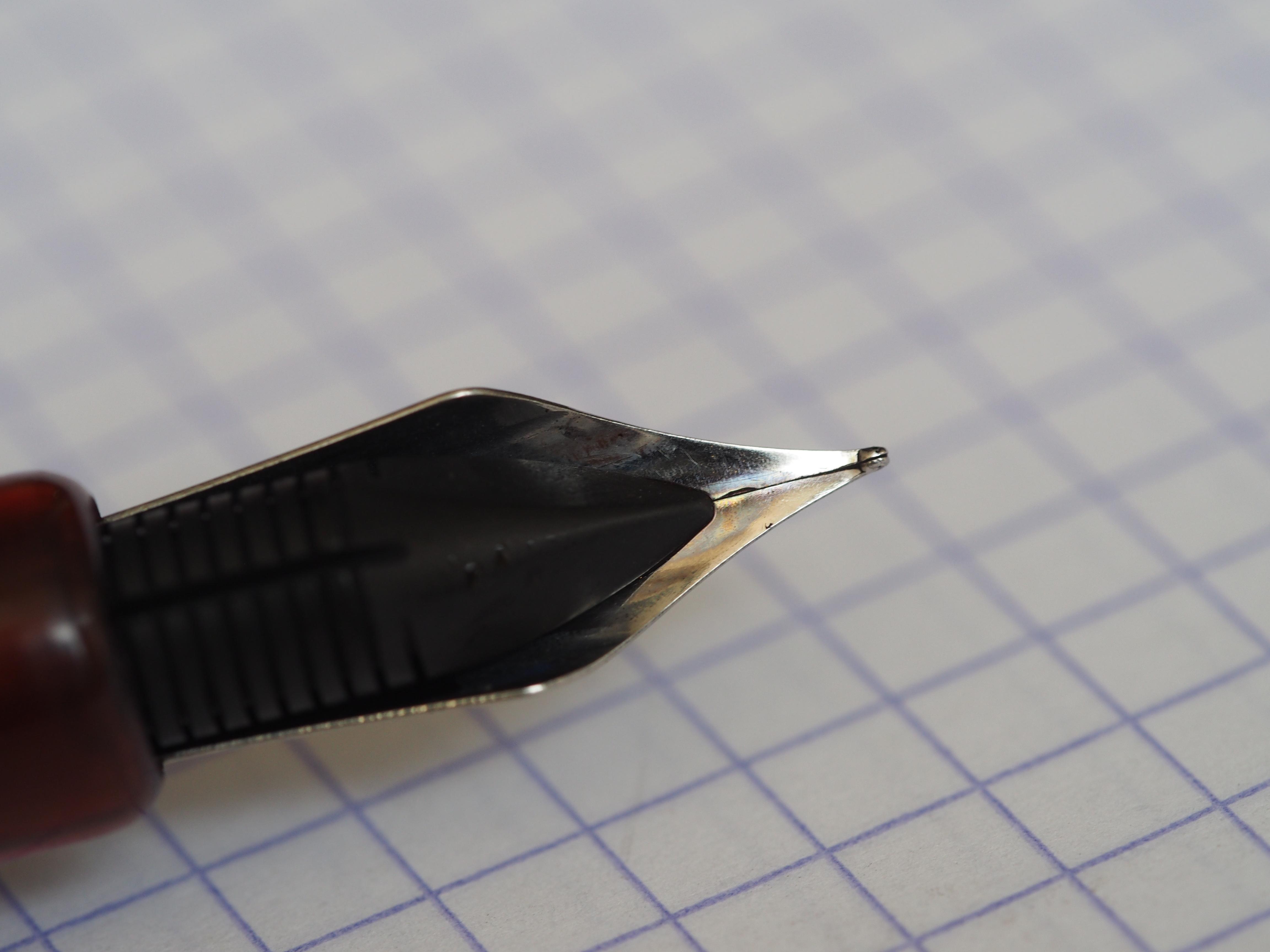 Adjusting your Noodler's Ahab Konrad Creaper Flex Pen Wonder Pens wonder pens.ca Blog Toronto Canada