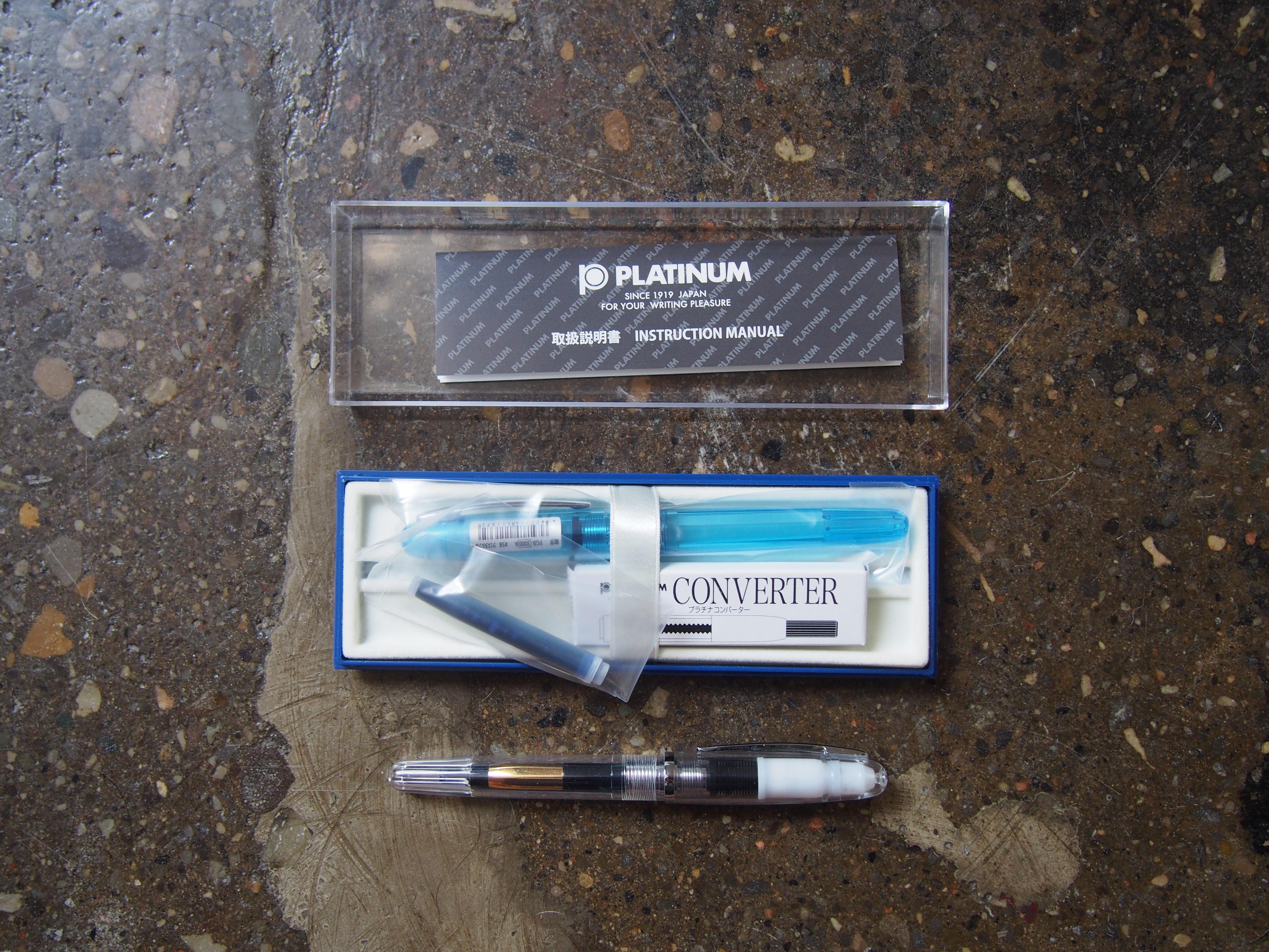 Platinum Cool Fountain pen Review Flex Nib Wonder Pens Wonderpens.ca Blog Toronto Canada