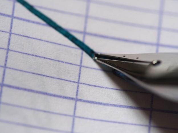 Platinum Cool Fountain Pen Review Noodler's Turquoise Wonderpens.ca Wonder Pens Blog Toronto Canada