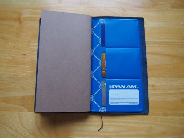 Midori Blue Traveler's Notebook Blue Edition Pan Am Wonder Pens Blog wonderpens.ca Toronto Canada