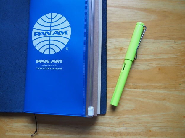 Midori Blue Traveler's Notebook Pan Am Accessories Wonder Pens Toronto Canada wonderpens.ca