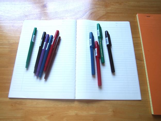 Pilot Fineliners Sign Pens Toronto Canada Wonder Pens Blog wonderpens.ca