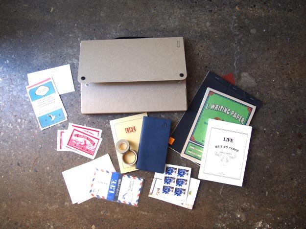 Making your Own Correspondence Kit Letter Writing Kit Wonder Pens Blog wonderpens.ca Toronto Canada