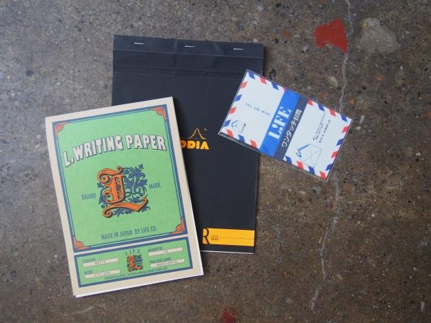 Letter Writing Kit Correspondence Kit Stationery Wonder Pens Blog wonderpens.ca Toronto Canada