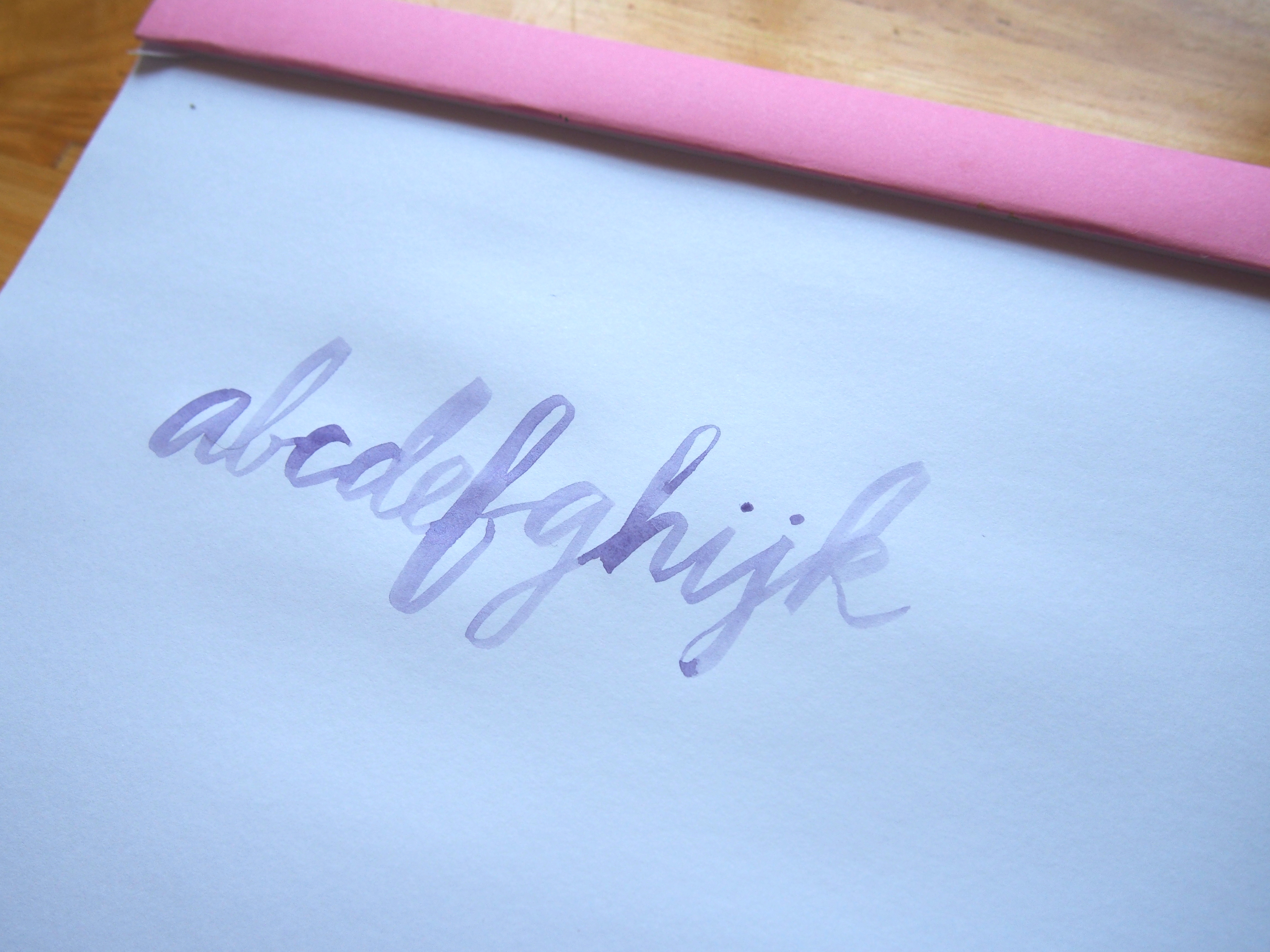 Brush Lettering Clairefontaine Graf it Sketchpad Wonderpens.ca Wonder Pens Blog Toronto Canada