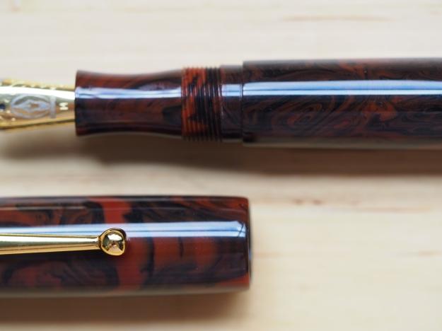 Edison Collier Black Rose Limited Edition Wonderpens.ca Wonder Pens Blog Toronto Canada