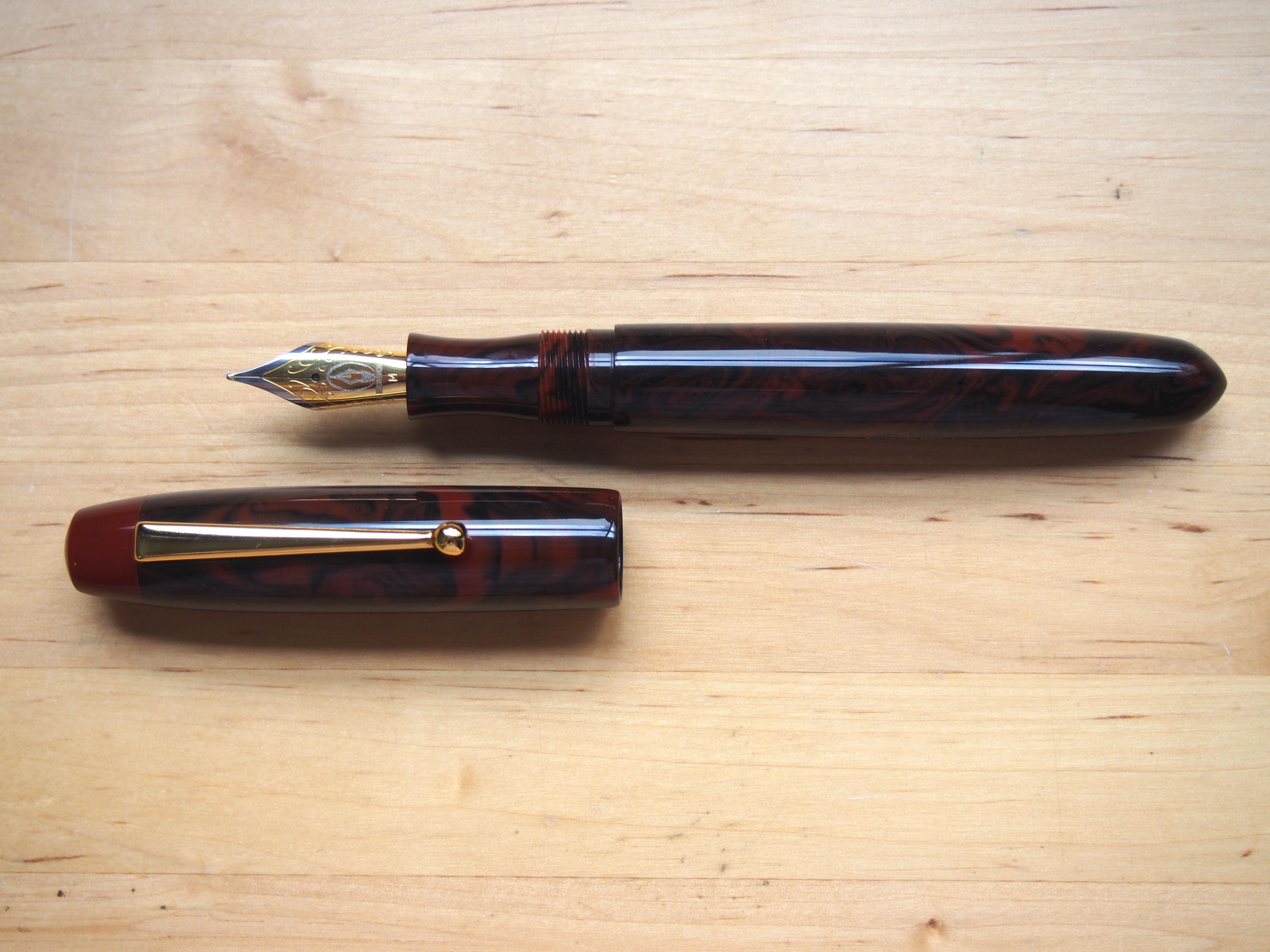 Edison Collier Limited Edition in Black Rose Acrylic Wonderpens.ca Wonder Pens Toronto