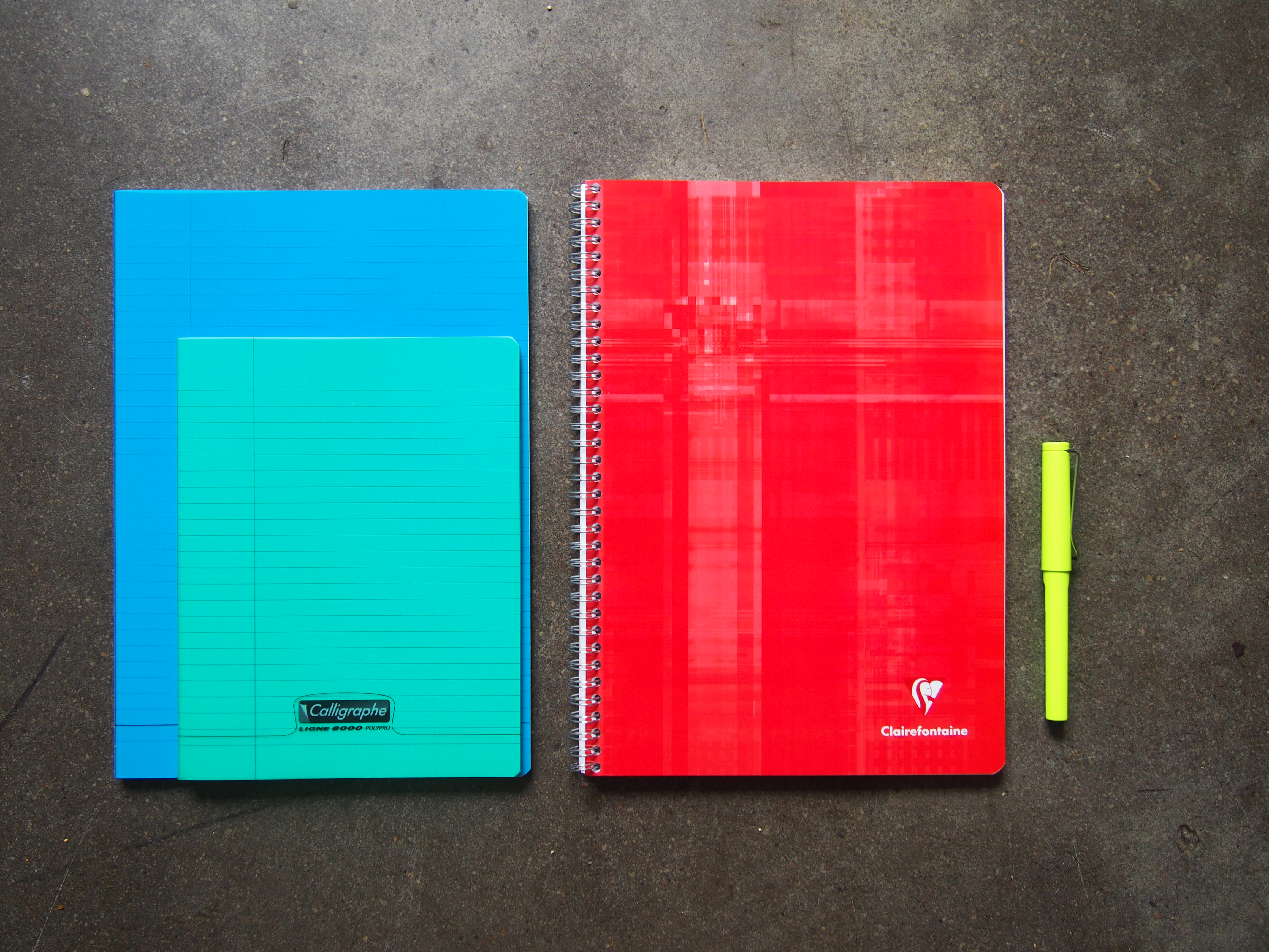 Clairefontaine Spiral bound notebooks 90gsm white paper Toronto Canada Wonder Pens Blog wonderpens.ca