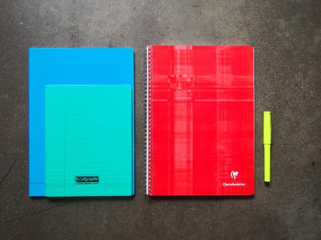 Clairefontaine Spiral bound notebooks 90gsm white paper Toronto Canada Wonder Pens Blog wonderpens.ca