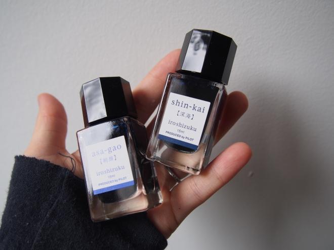 Iroshizuku Mini Bottles 15mL Wonder Pens Blog wonderpens.ca Toronto Canada