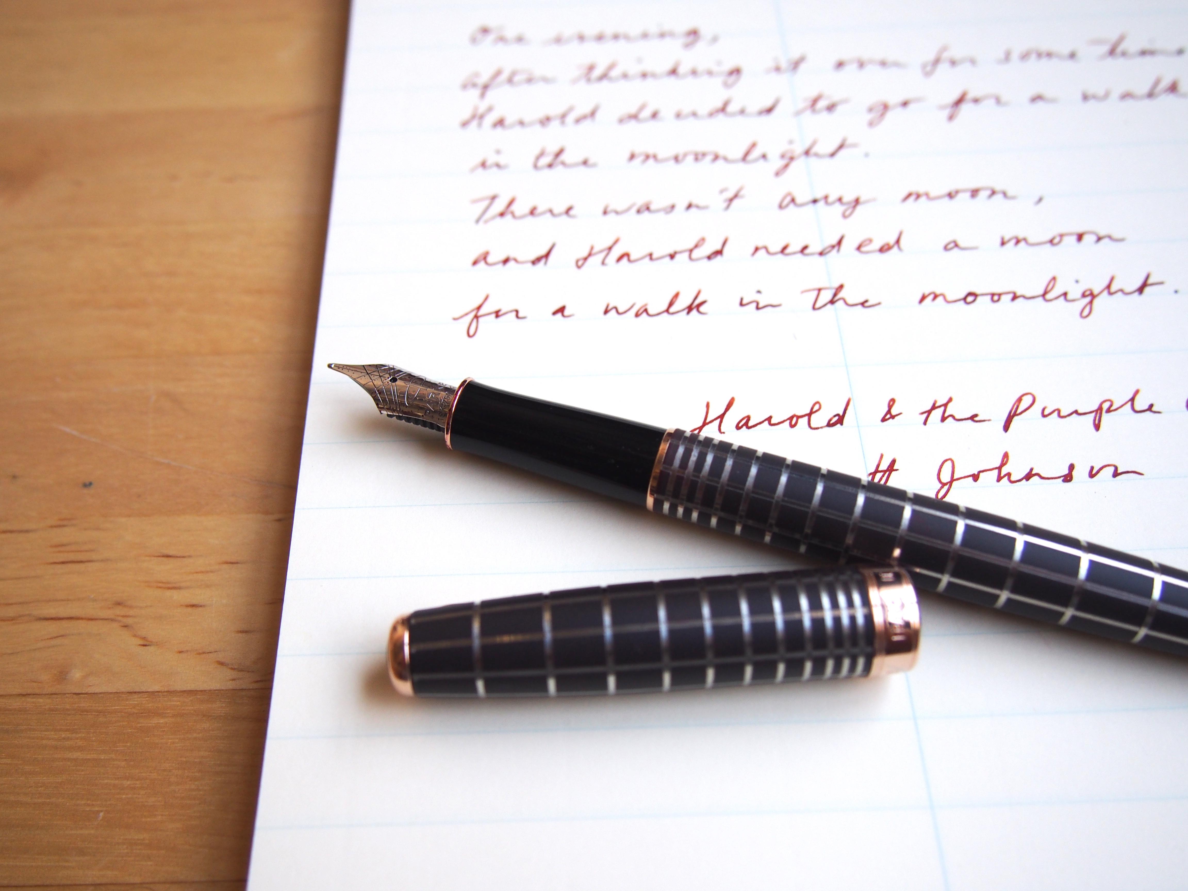 Parker Sonnet Fountain Pen Wonder Pens Blog wonderpens.ca Toronto Canada