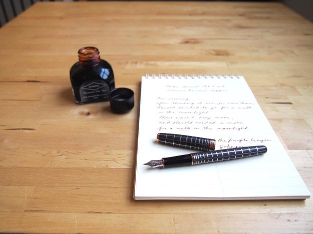 Parker Sonnet Fountain Pen Review Wonder Pens Blog wonderpens.ca Toronto Canada