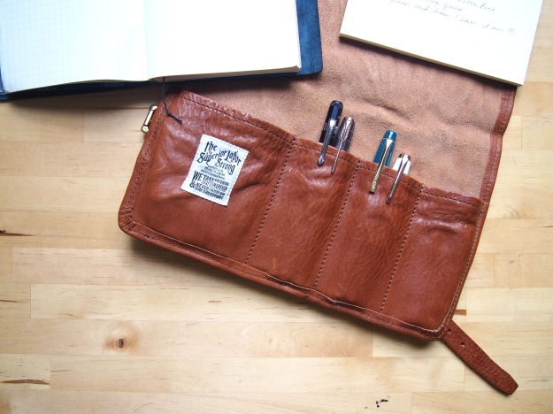 What's in my pen roll Wonder Pens Blog Fountain Pens wonderpens.ca Toronto Canada