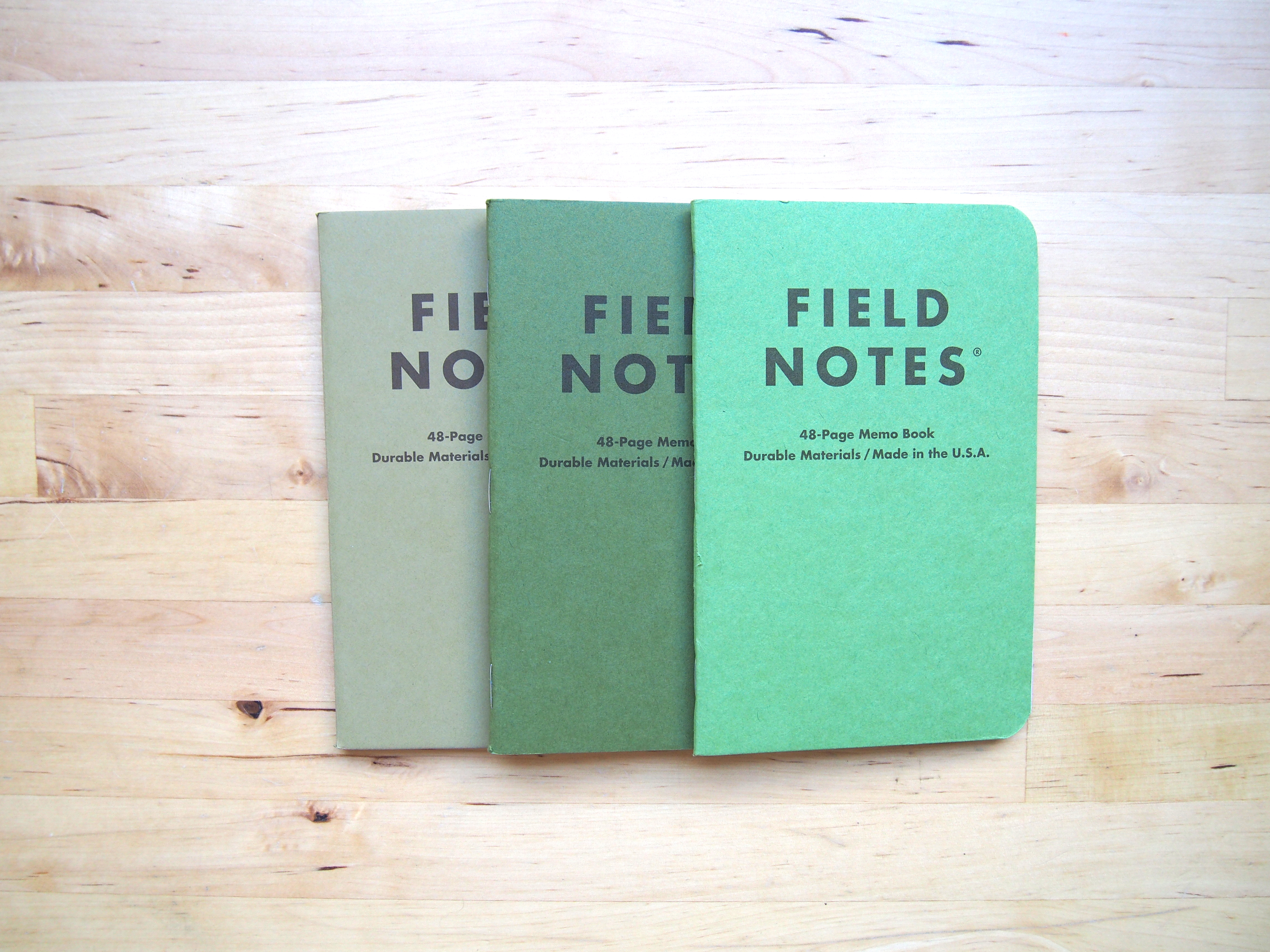Shenandoah Field Notes Fall 2015 Seasonal Edition Wonder Pens Blog wonderpens.ca Toronto Canada