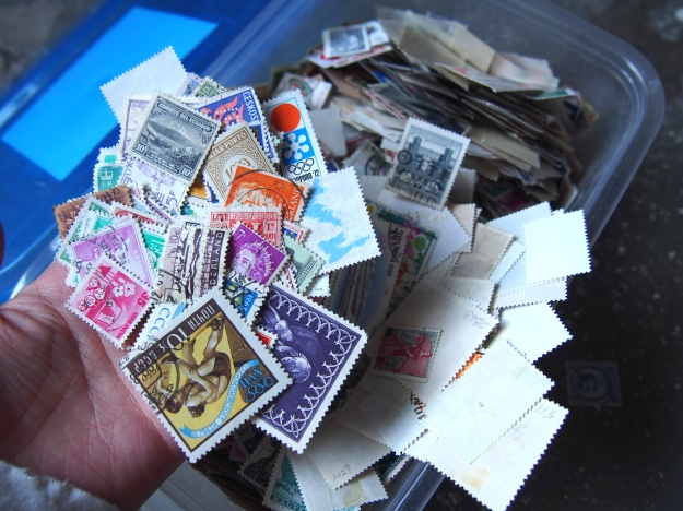 Vintage Stamp Ephemera