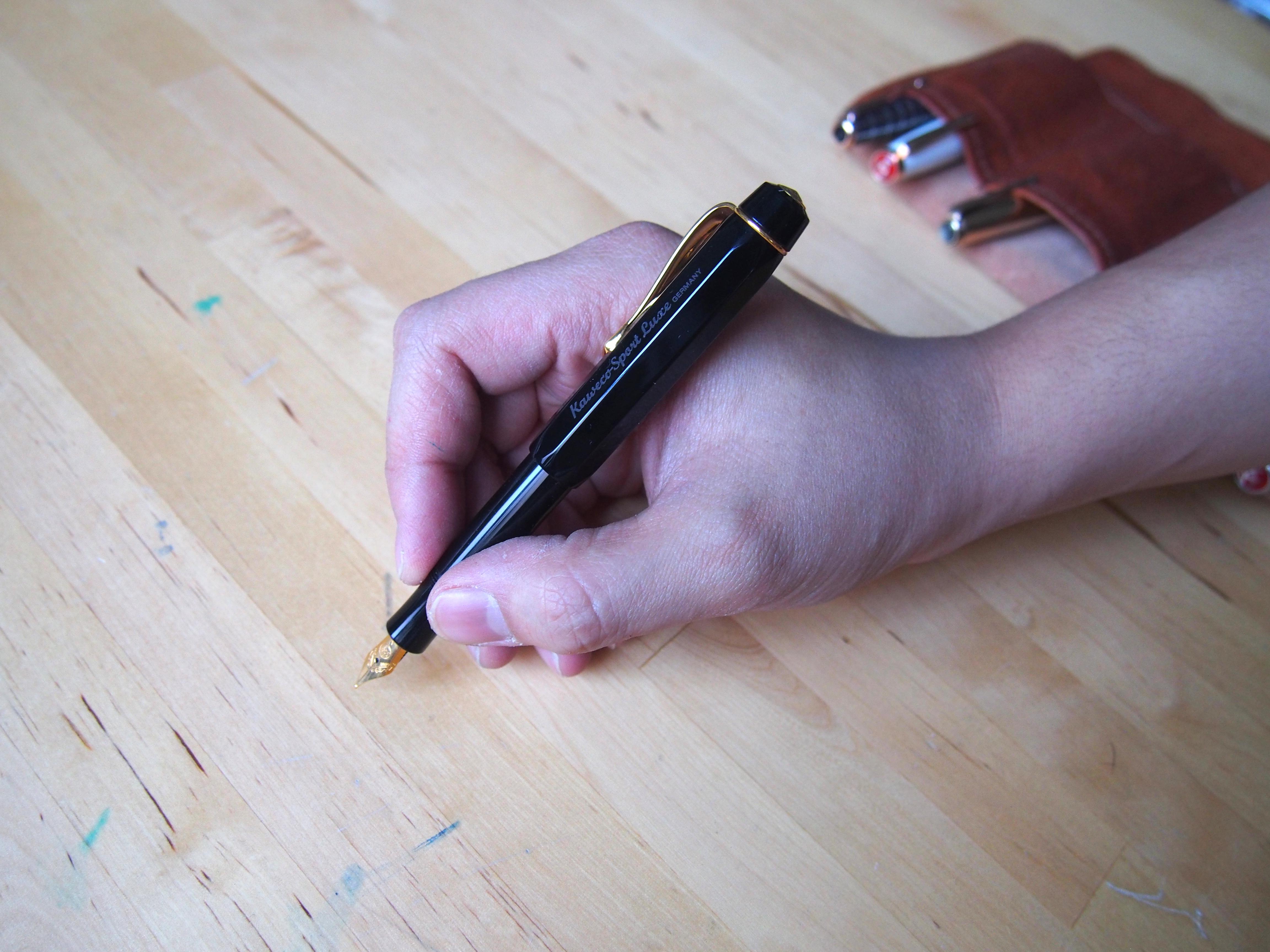 Kaweco Sport Luxe Fountain Pen Wonder Pens wonderpens.ca Toronto Canada