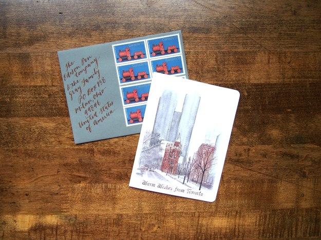 Calligraphy Addressing Envelopes Wonder Pens wonderpens.ca Toronto Canada